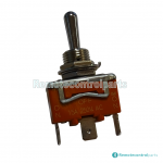 Imet® toggle switch : imet 3 pos stay put spring toggle switch on off on in103